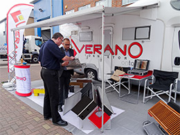 Verano Convector is exhibiting with trench heating
