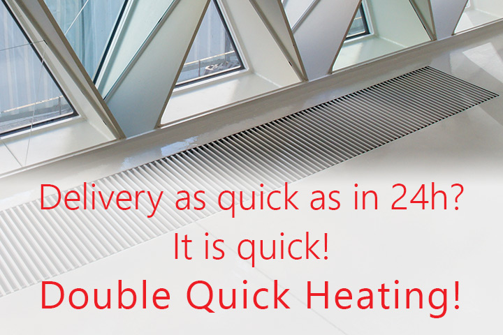 Next working day delivery available from DQ Heating