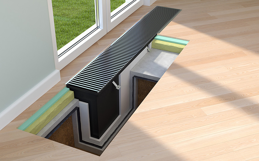 Trench Heating Vs Underfloor Heating The Consumer Advice