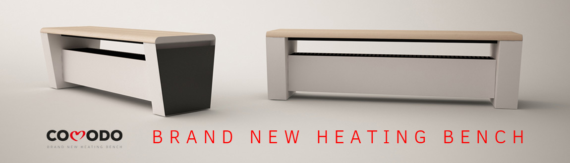 Heating bench COMODO