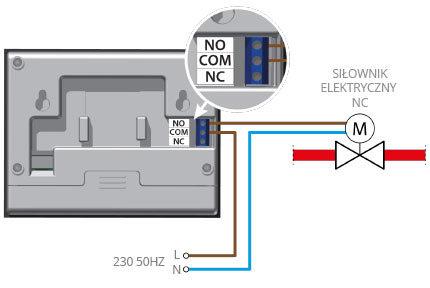 The connection instruction drawing for VER15S