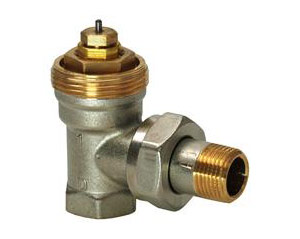 Angular thermostatic valve type Siemens VEN 215