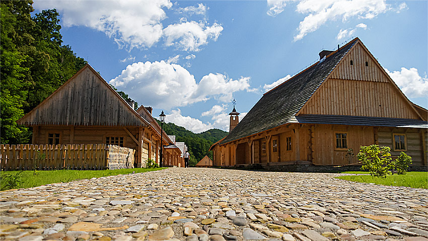 Ethnographic Park in Sanok