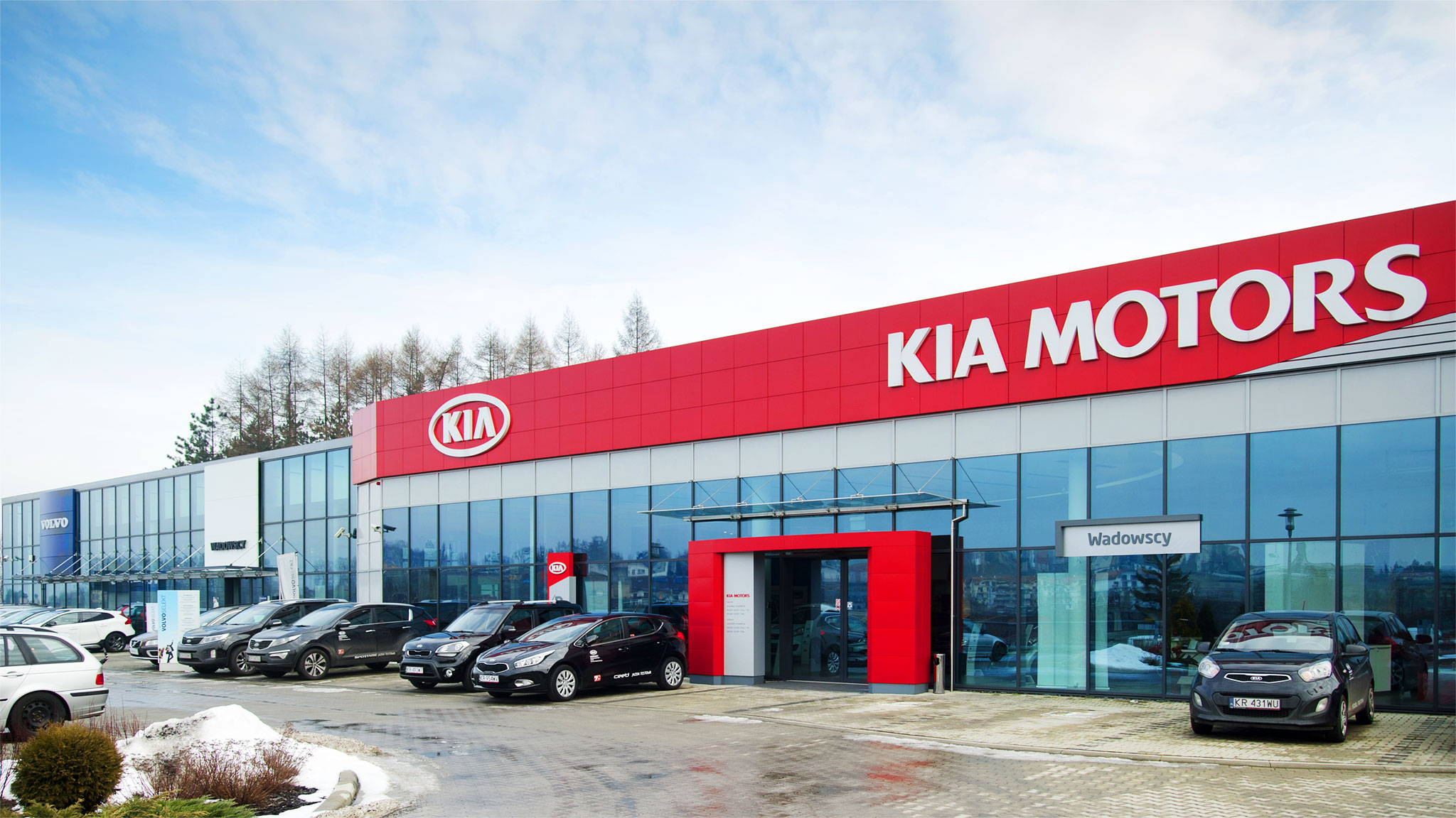 Dealership and garage of volvo and kia motors poland Kia motor dealers