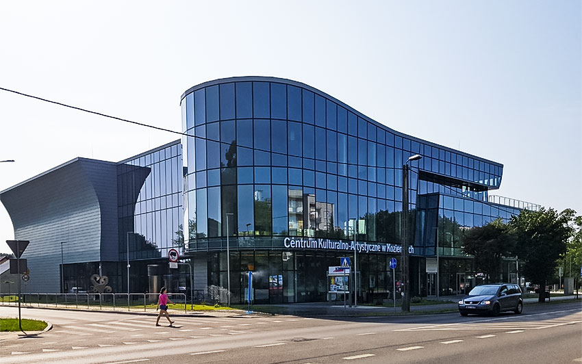 Cultural Centre Facility Building in Kozienice/Poland