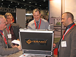 Verano at the Ecobuild exhibition