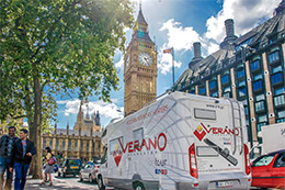 Verano on Tour in the United Kingdom