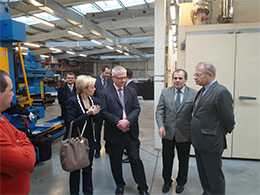 A visit of British Ambassador in Verano Manufacturing Plant