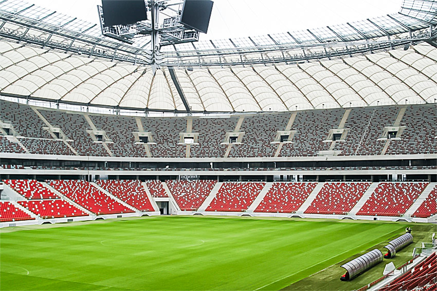 National Stadium in Warsaw/Poland